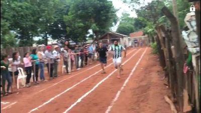 Intendente disputó carrera para ayudar a Unidades de Salud en Capiibary