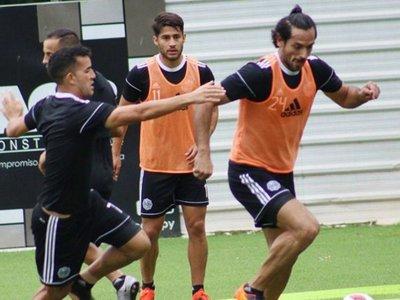 Roque hizo fútbol con normalidad