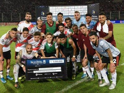 River venció a Estudiantes (BA) y clasificó a la final de la Copa Argentina
