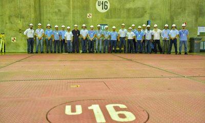 Realizaron sustitución de polos de la Unidad Generadora 16 de Itaipu