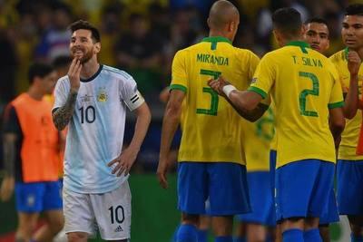 Argentina y Brasil se enfrentan en Arabia Saudita