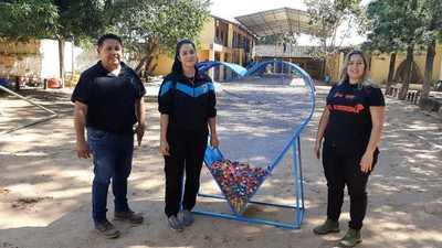 Sampedranos se organizan y juntan tapitas para ayudar a niños con cáncer