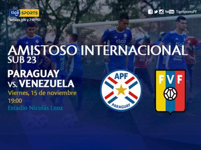 Promo de Paraguay y Venezuela en Sub-23