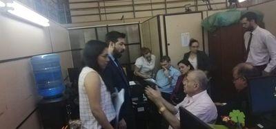 Ramón González Daher se presentó en la Fiscalía