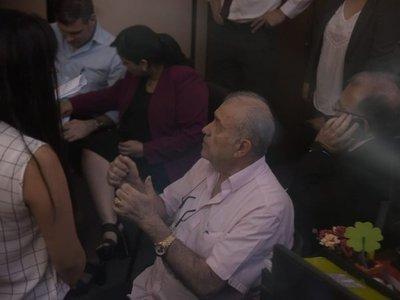 González Daher y su hijo se abstienen de declarar ante la Fiscalía