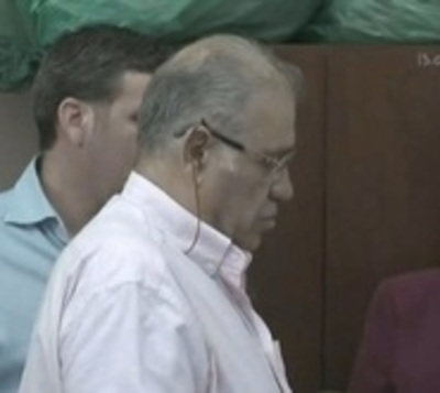 Ramón González Daher se abstuvo de declarar ante fiscal