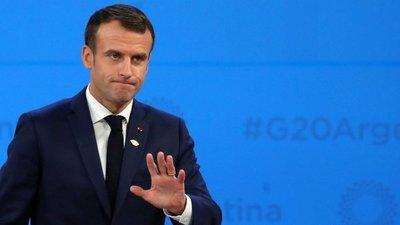 Dos detenidos por la tentativa de ataque a Macron