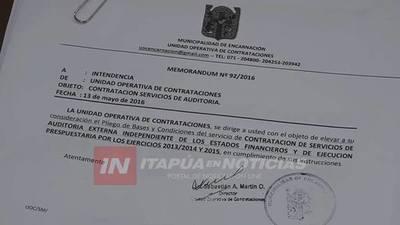 """FISCAL NIEGA CAJONEO DE LA DENUNCIA """"AUDITORÍA EXTERNA"""" EN ENCARNACIÓN"""
