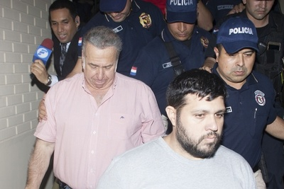 Prisión preventiva para Ramón González Daher y su hijo