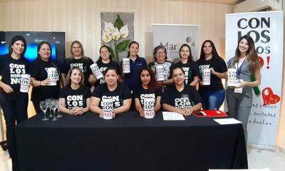 Organización «Con los NIños No» lanza su primera colecta solidaria