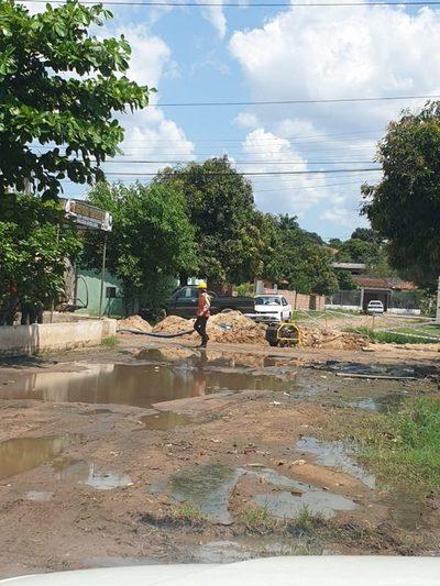 Barrio Santa Maria: Reaccionan luego de visita de nuestro portal
