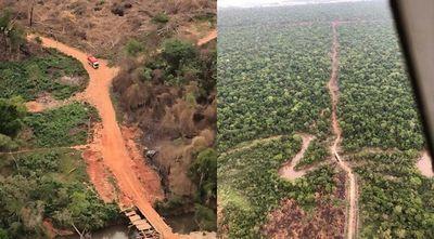 Repudian falta de accionar de la fiscalía ante deforestación de Reserva Morombí