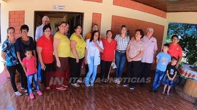 SAN JUAN DEL PNÁ.: INAUGURAN MEJORAS EN EL PUESTO DE SALUD DEL B° SAN LUIS