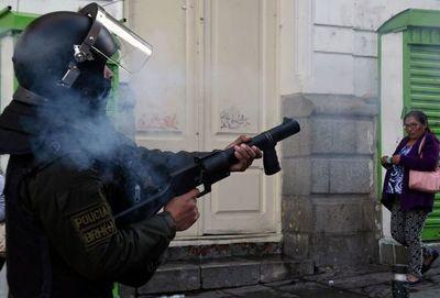 Unos cinco muertos en graves enfrentamientos en Bolivia
