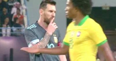 Lio Messi los mandó a callar a Brasil y a Tite