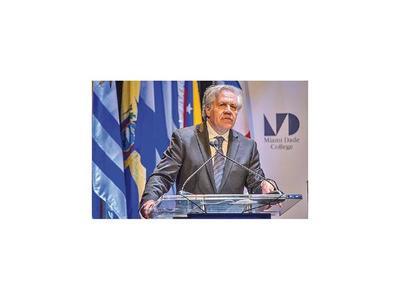 Secretario de la OEA llega al país el lunes
