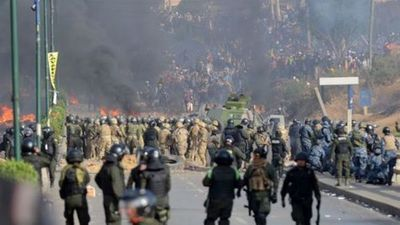 """La CIDH condenó el """"uso desproporcionado"""" de la fuerza en la represión contra manifestantes de Bolivia"""