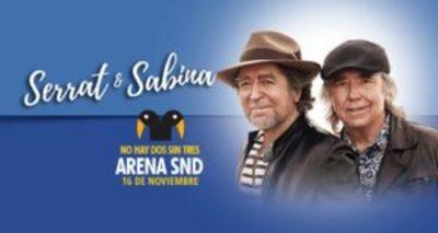 ¡Serrat y Sabina suenan esta noche en Paraguay!