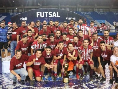 Exa Ysaty es el  monarca de la Copa Paraguay