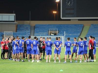 Berizzo dirige primera sesión de Paraguay en Riad para jugar con Arabia