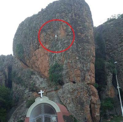 Joven extranjero cae del cerro Kavaju de Tobatí