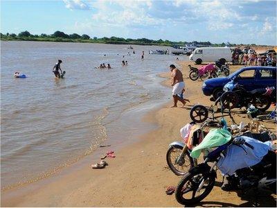 Itá Enramada: Buscan a dos jóvenes en aguas del río Paraguay
