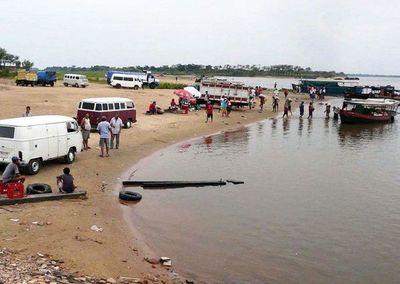 Continúa la búsqueda de jóvenes desaparecidos en río Paraguay
