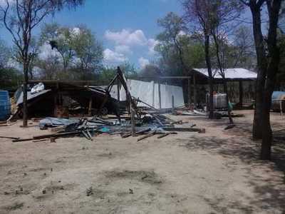 Buscan recuperar terrenos arrebatados a una familia de la zona del Pilcomayo