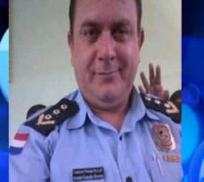 Comisario muere a balazos en su puesto policial