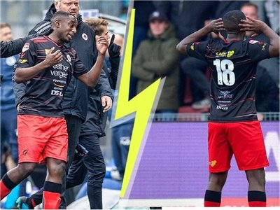 Un futbolista holandés responde a cánticos racistas marcando un gol