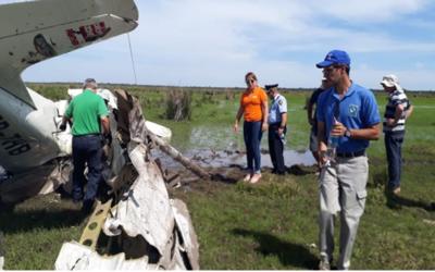 Caída de aeronave en Yuty deja un fallecido