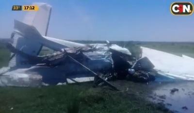 Piloto muere en desplome de avioneta