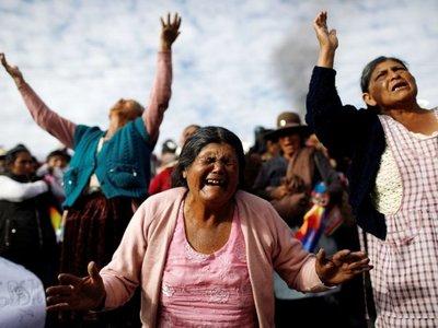 Partido de Morales pide repliegue de FFAA y convoca a una cumbre política