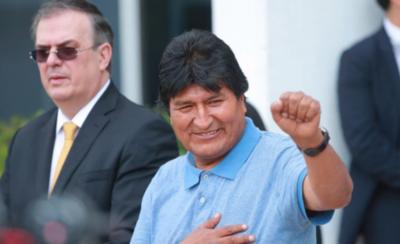"""HOY / Evo Morales denuncia crímenes de """"lesa humanidad"""" en Bolivia"""