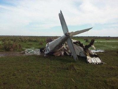 Avioneta estrellada en Yuty tenía documentos en regla