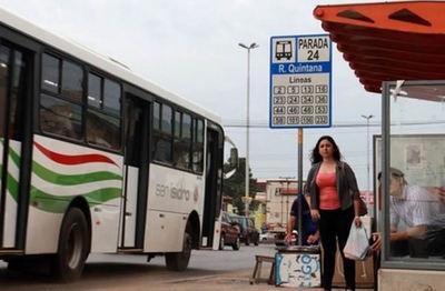 Inició la regulada de buses y con posibilidad de paro