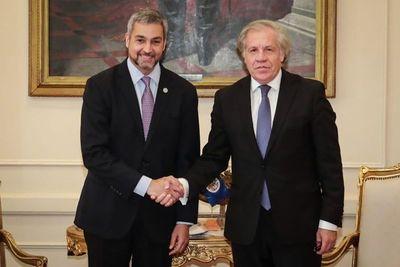 """Almagro: """"Paraguay ha jugado un papel determinante en la OEA"""""""