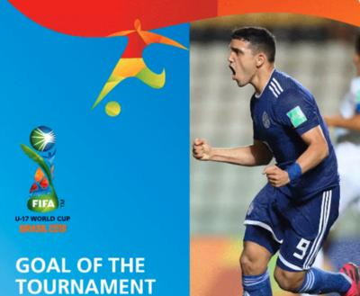 Un gol paraguayo es candidato al mejor del Mundial sub 17