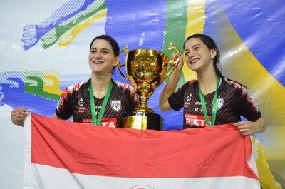 La dupla paraguaya que destronó a la mejor del mundo