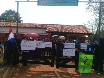 Habitantes de Arroyito están en alerta aguardando la intervención municipal
