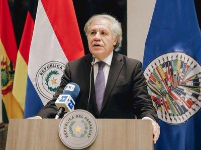 """Almagro reconoce """"papel relevante"""" de Paraguay en salida de Evo de Bolivia"""