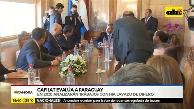 Gafilat evalúa a Paraguay