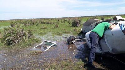 Descenlace fatal tras caída de aeronave en estancia de Yuty