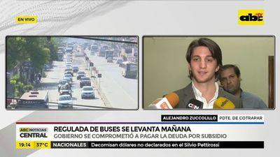 Transporte público guata oñemohenda porã jeýta ko  martes guive
