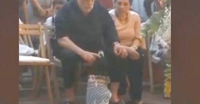 """Humberto y su """"reunión"""" con un guagui"""