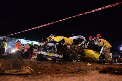 Taxista fallece en un accidente de tránsito en Capiatá