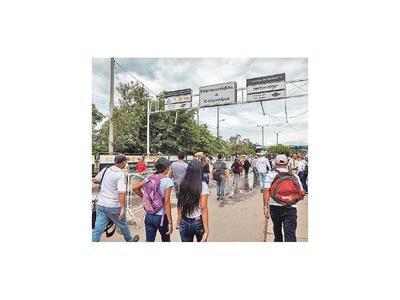 Colombia cerrará frontera por protestas