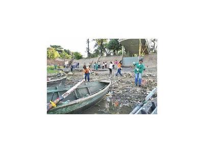 Sacan 25 toneladas de basura de las playas de Itá Enramada