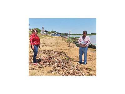 Puerto Casado proyecta la primera playa