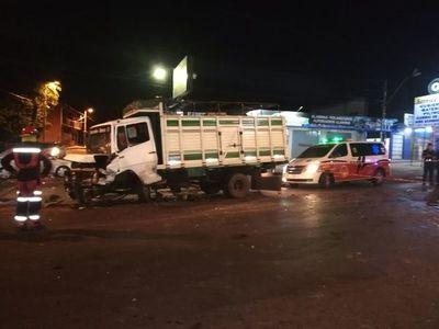 Accidente en Capiatá deja un fallecido y un herido